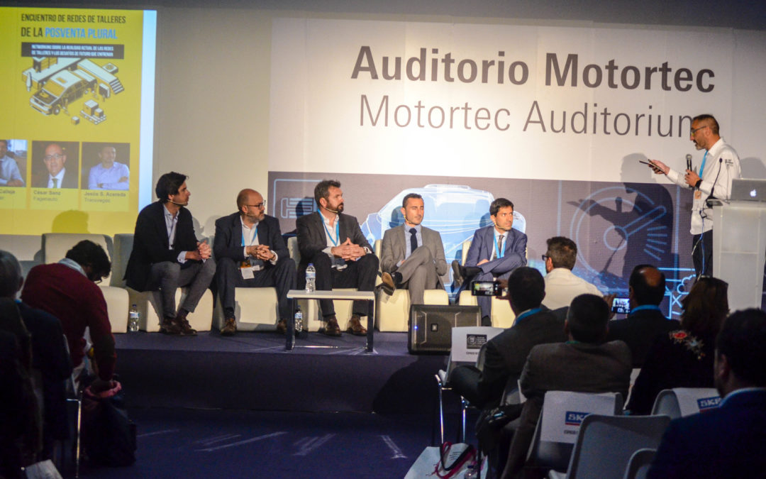 Las redes serán clave en la adaptación de sus talleres ante los retos de la nueva movilidad